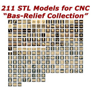 Bas relief collection for cnc router